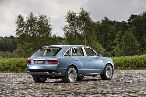 Smaller Bentley Suv To Follow Full-size Model