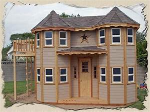 Outdoor : How To Make An Outdoor Castle Playhouse How to