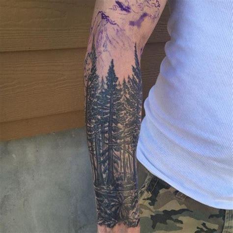 galeria  tatuajes de arboles frondosos