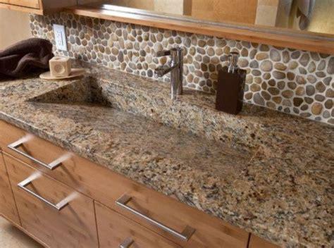 Backsplash Rock : 29 Cool Stone And Rock Kitchen Backsplashes That Wow
