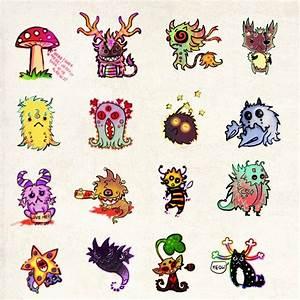 Cute Monsters by FlyingCarpets on DeviantArt