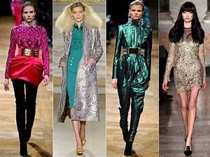 Pictures : Fall 2013 Fashion Trends - Metallics Fashion Trend.