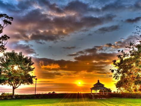 Wailea Sunset Maui Hawaii Desktop Background 558853 ...