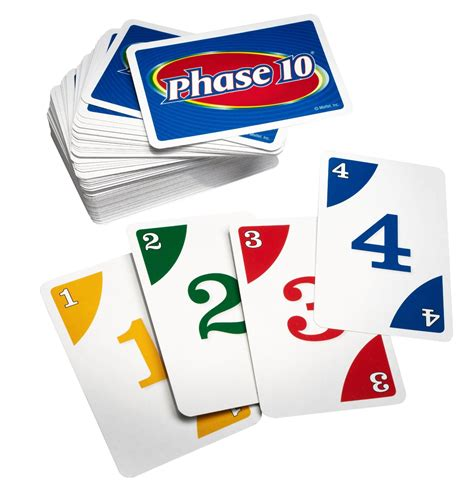This simple card game helps kids quickly get better at knowing the pairs of numbers that add up to ten: Phase 10 Card Game - Board Games Messiah
