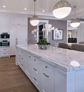 40, White, Farmhouse, Kitchen, Cabinet, Makeover, Ideas