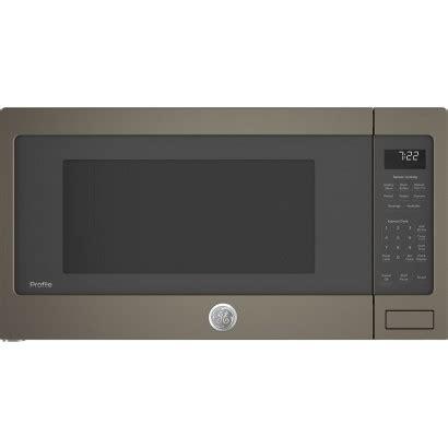 peseles ge profile  countertop  cu ft   microwave slate