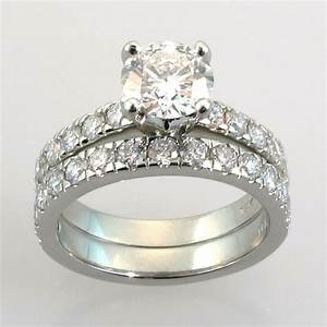 wedding settings for diamond rings wedding promise With diamond set wedding rings