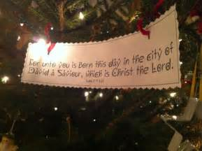 Printable Scripture Christmas Tree