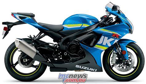 Suzuki R Gsx by 2018 Suzuki Gsx1300r Gsx R750 Gsx R600 Mcnews Au