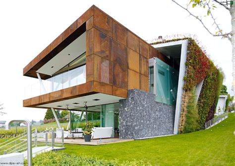 Eco Friendly House Design  Villa Jewel Box With An