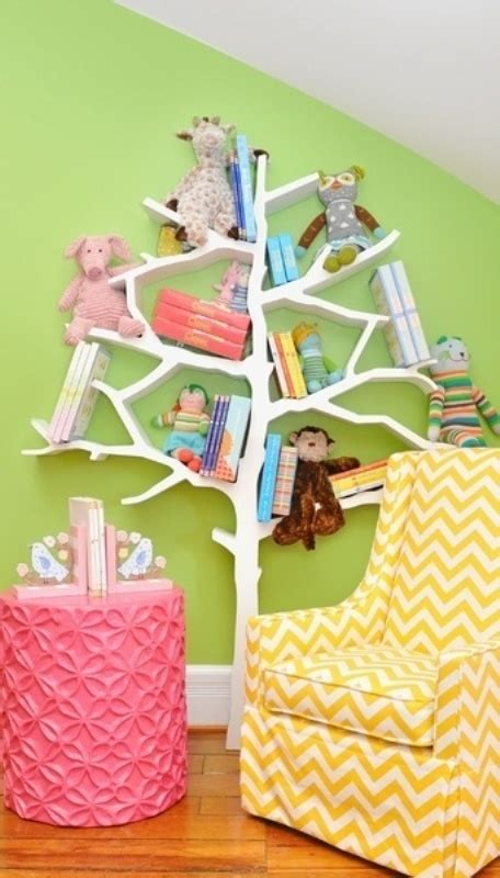 cool kids bookcases  shelves ideas style