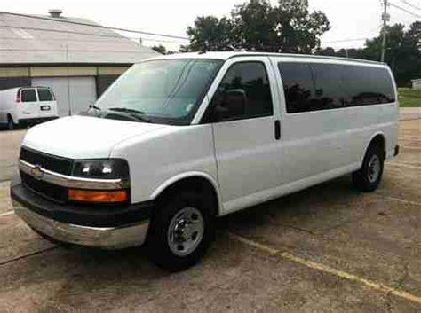Find Used 2012 Chevrolet Express 15 Passenger Van In