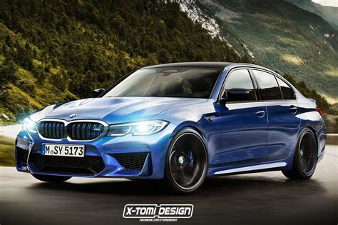 Future Bmw M3 G80 Gets Rendered Again