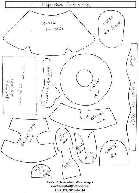 patrones fofuchas para imprimir search fofuchas patrones moldes de mu 241 ecas e