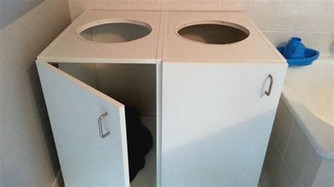 Organise Laundry With Kitchen Cabinets