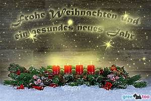 Gesundes Neues Jahr Sprüche : frohe weihnachten und ein gesundes neues jahr bilder g stebuchbilder gb pics ~ Frokenaadalensverden.com Haus und Dekorationen