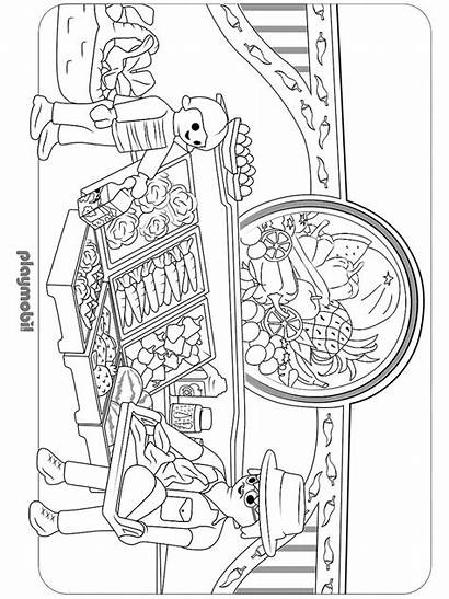 Playmobil Coloring Pages Printable Mycoloring