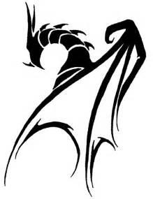 Tribal Dragon Tattoo Drawings