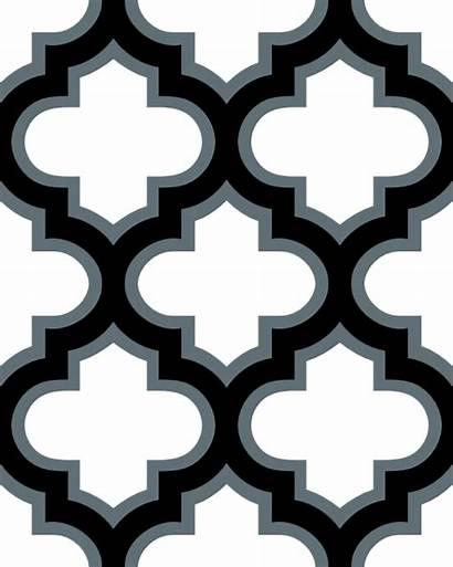 Moroccan Lattice Clipart Tile Mosaic Clip Patterns