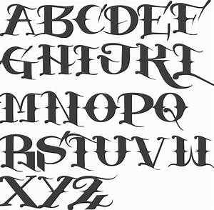 graffiti old school font old english letters graffiti With english block letters