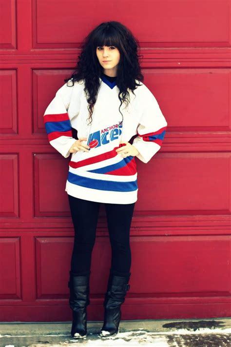 Styling a Hockey Jersey | Haute Hockey | Pinterest | Hockey