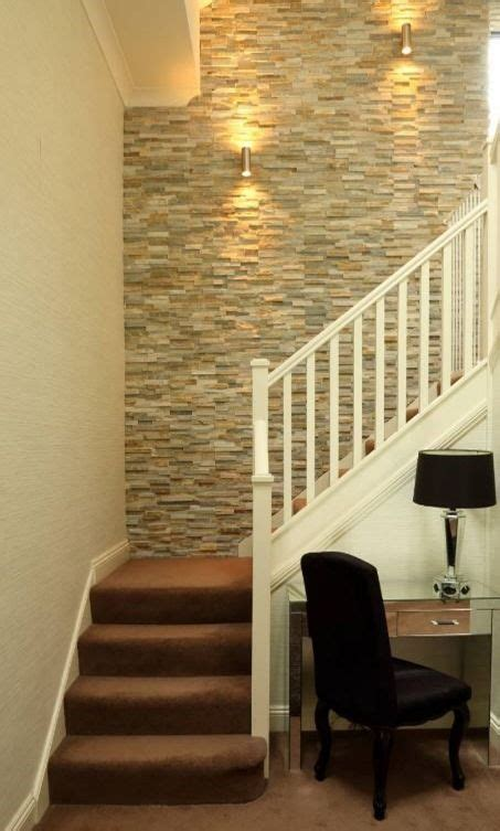 interior stone accent wall home ideas   stone