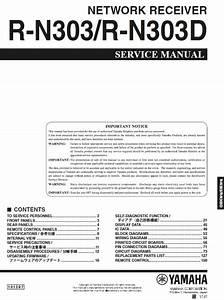 Yamaha R N303d Service Manual    Yamaha Aplifiers