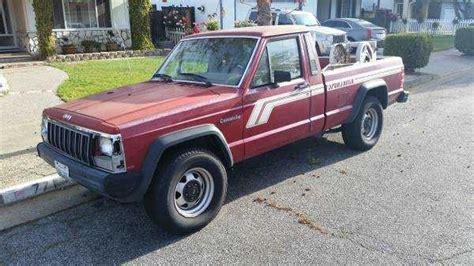 1988 jeep comanche sport truck jeep comanche lights pleasanton mitula cars