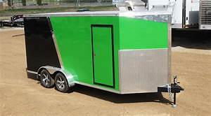 7 U2032 Wide Enclosed Trailer