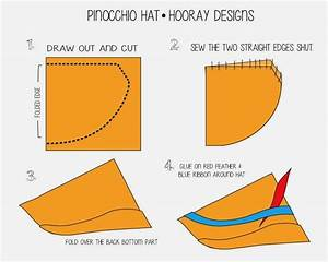 hooray pinocchio the blue fairy pinocchio costume With pinocchio hat template