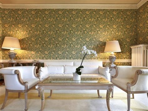 Decorating Ideas Wallpaper by Luxury Living Room Wallpaper Decoration 4 Home Ideas