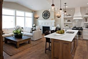calgary home and interior design show the hawthorne kitchen great room traditional kitchen