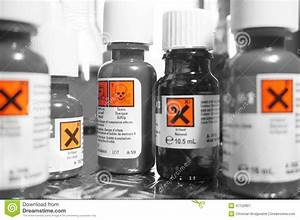 chemicals bottles a stock image image of chemistry With chemical bottle labels