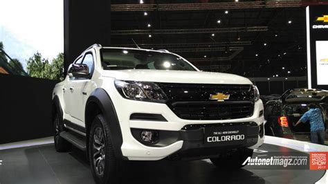 Gambar Mobil Chevrolet Colorado by Fascia Depan All New Chevrolet Colorado 2017