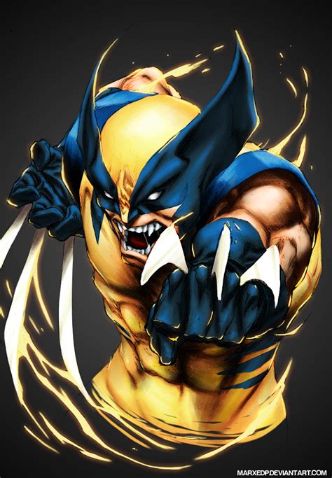 Wolverine  Marvel By Marxedp On Deviantart