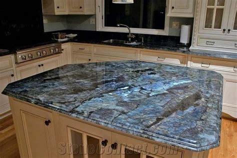 Labradorite Blue Granite Kitchen Countertop From United