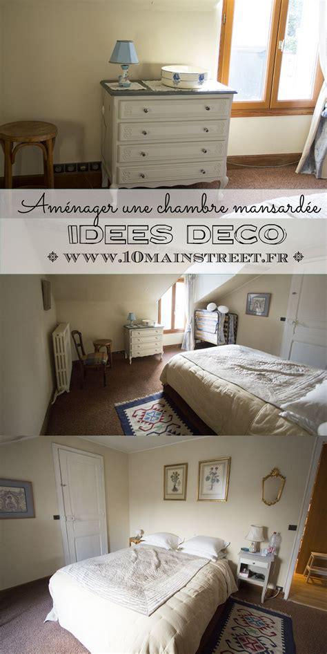 deco chambre mansardee aménager une chambre mansardée idées déco et rangement