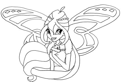 Coloring Pages Of Winx Club Eskayalitim
