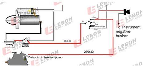 Yanmar Fuel Shut Solenoid Wiring Diagram by En Gros Sa 2696 A Sol 233 No 239 De D Arr 234 T Du Moteur Diesel 24 V