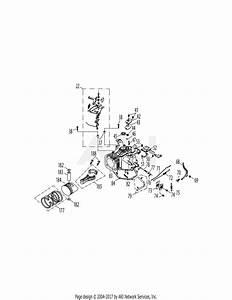 Mtd 5p70m0b Engine Parts Diagram For 5p70m0b Crankcase