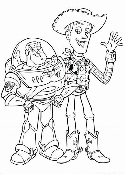 Coloring Pages Action Figure Toy Story Jessie