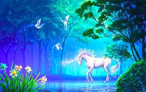 Dreamland fantasy horse HD wallpaper