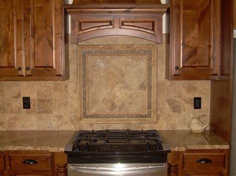 kitchen backsplash travertine subway travertine mosaic backsplash tile in this kitchen