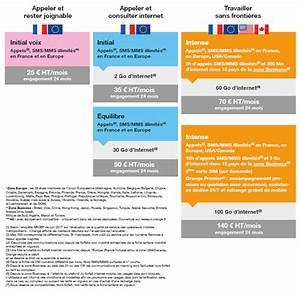 Forfait Telephone Pro : forfaits mobiles performance entreprises orange business services ~ Medecine-chirurgie-esthetiques.com Avis de Voitures