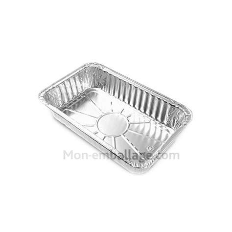 vente plat aluminium jetable 1 kg pour cuisson au four