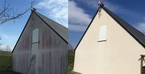 Enduit Exterieur Avant Peinture : nettoyage facade maison rnovation de faade du0027une ~ Premium-room.com Idées de Décoration