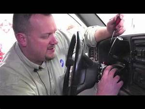 Ignition Lock Cylinder Replacement  Late Model Gm Trucks