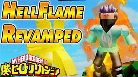 [new Code] Hellflame Quirk Revamped Boku No Roblox