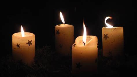 advent vier kerzen brennen  vierten advent