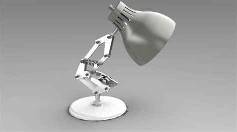 Luxo Jr L Model by Luxo Jr Pixar 3d Cad Model Grabcad